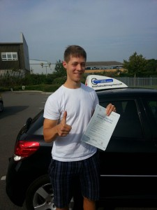 Henry Passed with Streets Ahead Driving School