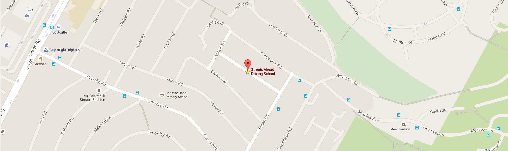 Streets Ahead Driving School Google Maps